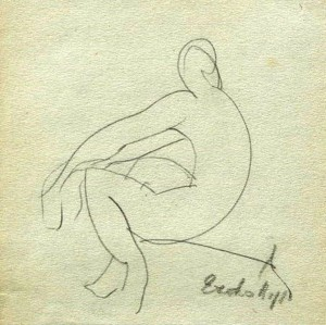 Сидяча натурниця (Приватна колекція)