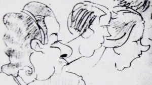 Fragment of picture, 1940
