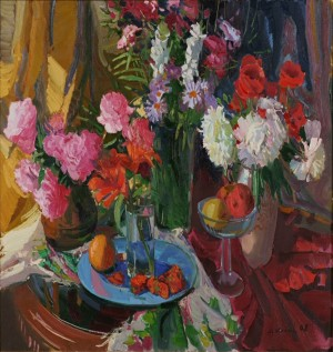 Gods Roses, 2008, oil on canvas, 80x100