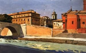 Рим. Міст Цестіо, 1964, к.о. 22.5х35