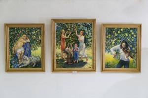 ПЕРСОНАЛЬНА ЮВІЛЕЙНА ВИСТАВКА ЛЮБОВІ СЛОБОДСЬКОЇ В УЖГОРОДІ