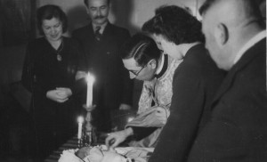 Christening of Ivan Manailo, 1942 (Photo archive of I. Manailo)
