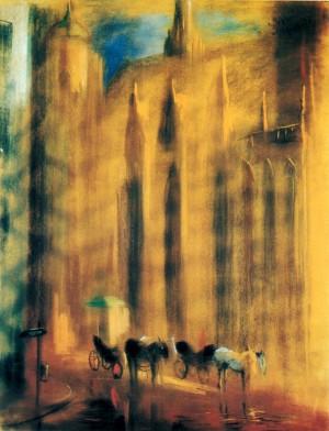 Відень. Біля собору св. Стефана, 1991, п.паст., 80х60