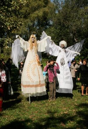 O. Derda. Angels, theatre activity, 2012