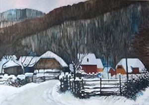I. Didyk Winter, 2016, c.acr.,  60х70