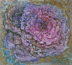 Purple-Coloured, 2005, acrylic on canvas, 50х60