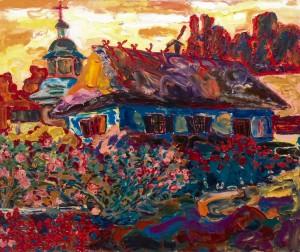 Панський дім, 2008, п.о., 105х115
