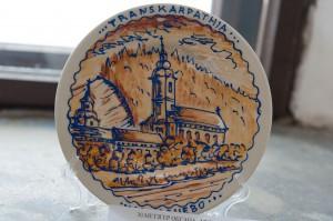 O. Metsher 'Mukachevo Monastery', decorative painting