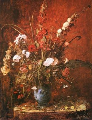Натюрморт з квітами 1881р.