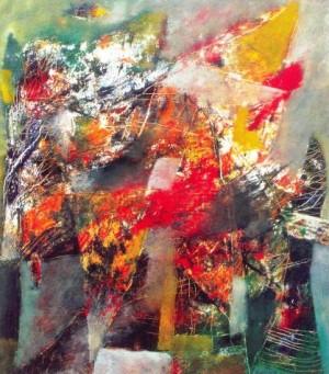 Передчуття осені, 2000, п.о., 80x70