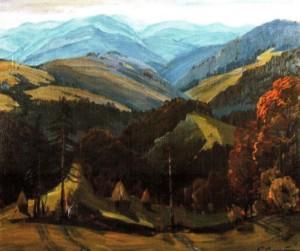 Карпати, 1982, 60х70