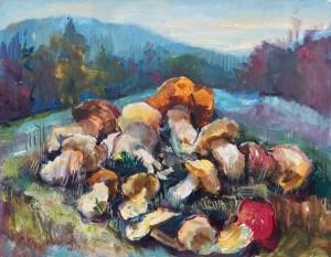 Урожай грибів