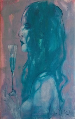 O. Voitovych 'Evening Wine', 2015