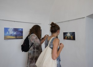 BEATA KURKUL PRESENTED PICTURES' EXHIBITION ON BORDE GUARDS IN MUKACHEVO