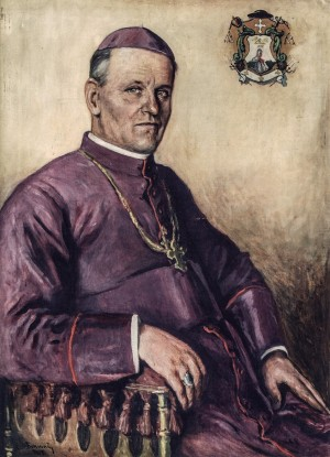 Portrait Of Bishop Hebei, 1929, oil on canvas, 94x68