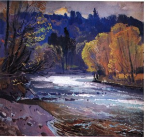 Ріка річка, 1981, п.о. 75х80