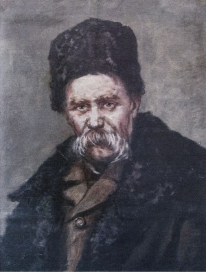 Portrait Of Shevchenko, 1940s, oil on canvas, 84,5х65