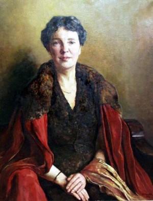 Жіночий портрет, 1943, п.о., 96х74,3