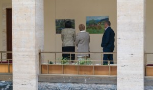 UKRAINIAN ARTISTS PRESENTED THE EXHIBITION OF PLEIN AIR WORKS IN UZHHOROD