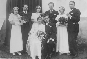 Goldеn wedding, 1933