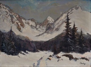 'Winter In The Tatras Mountains', 1935, oil on canvas, 58x78.jpg