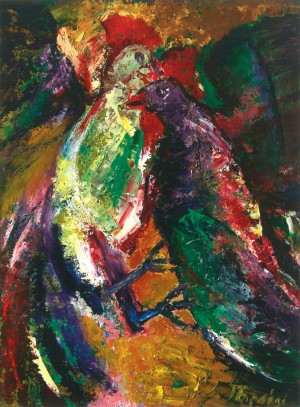 Когути, 2012, п.о., 80х70