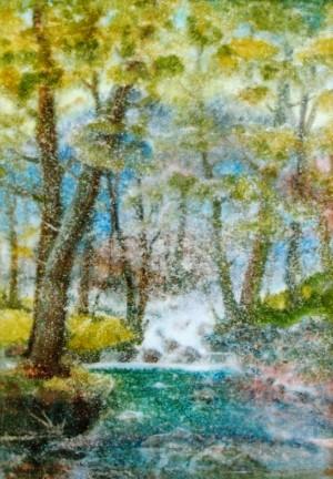 Shower Is Over , watercolour on watman, 88х62