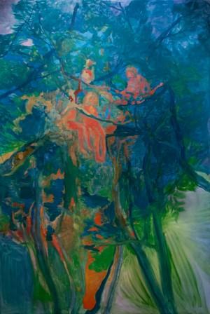 'Діти на деревах', 2008, 180х140