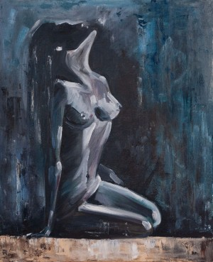 'Passion', 2008, oil on canvas