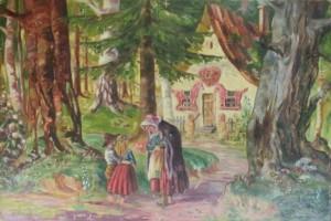 S. Kutlan Near the Tisza River', oil on canvas