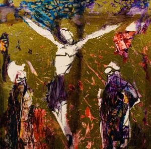 Кузьма Б. На хресті