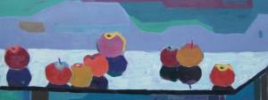 Яблука, 2015, орг.о., 75х35