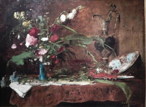 Still Life with Flowers and Jug 1881 р