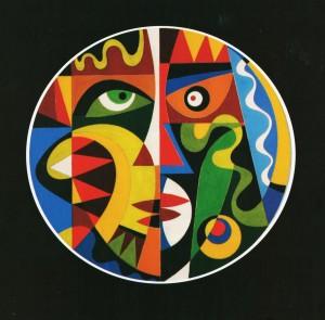 Маски, 1995.кар.гуаш