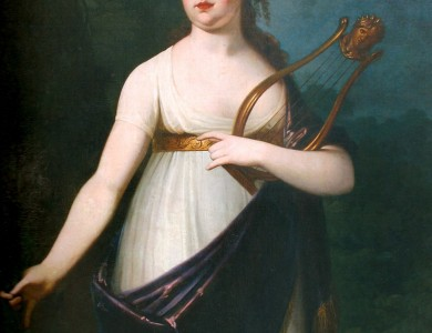 J. Stunder Girl with a lyre
