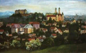 Краєвид Ужгорода, 1982, 60х70