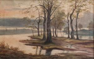 S. Silvai Landscape', oil on canvas