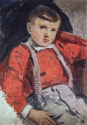Boys Portrait, 1966, oil on cardboard, 49х35
