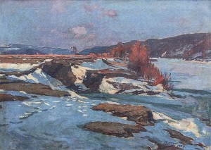 Early Spring, 1929, oil on canvas, 77,5х106