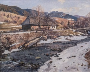 Early Spring, 1951, oil on canvas, 90,5х110