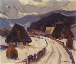 Село, 1979, п.о. 60.5х70.5
