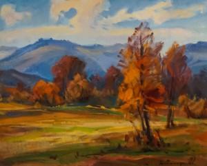 Карпатська осінь, 2007, п.о., 60х80