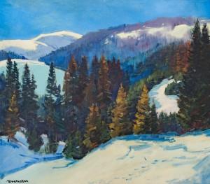 V. Brenzovych 'Vysokyi Verkh Mountain', 2018