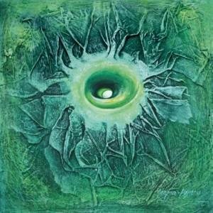 Медузка, 2000, 50х50