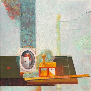 Still Life Of An Illusionist, 1979, oil on canvas, 110x110