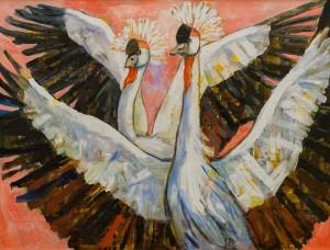 T. Ivanytska Crowned Cranes', 2016