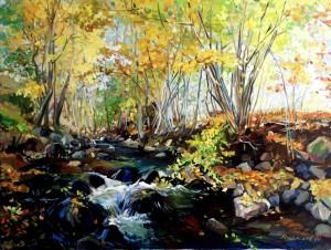 Холодний листопад, 2011, п.о., 60х80
