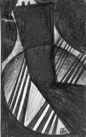 Корж Б. 'Свинцевий дощ', 1973