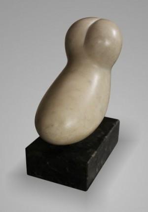 Таємниця ІІ, 1997, мармур, 24х11х21