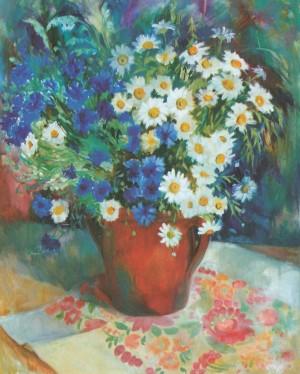 Польові квіти, 2011, 70х60